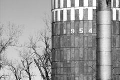 Silo de grain Photo libre de droits