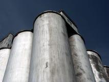 Silo de grano Imagenes de archivo