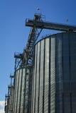 Silo de grano Foto de archivo