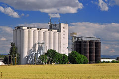 Silo de landbouw Stock Fotografie