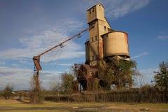 Silo del carbón Imagenes de archivo