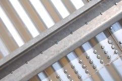 Silo del ferro, frammento Fotografia Stock