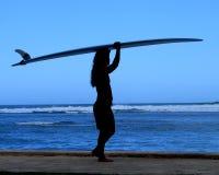 Silo del surfista Immagini Stock Libere da Diritti