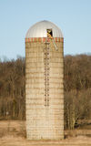 Silo on the Farm Stock Image