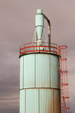 Silo industriale dello scarico Fotografia Stock Libera da Diritti