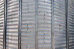 Silo metallic wall detail Royalty Free Stock Photos