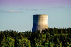 Silo nucleare Immagine Stock