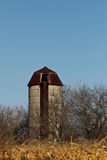 Silo. Old silo against blue sky Royalty Free Stock Images