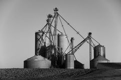 Silo plant, Western Ontario Stock Photos