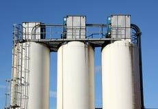 silo's Royalty-vrije Stock Fotografie