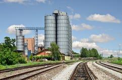 silo's Royalty-vrije Stock Afbeeldingen