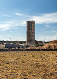 Silo to store wheat Stock Images