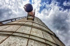 Silo Up Close Royalty Free Stock Image