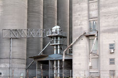 Silo warehouse industry zone Royalty Free Stock Image