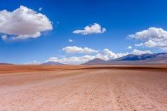 Siloli desert in sud Lipez reserva, Bolivia Royalty Free Stock Photos