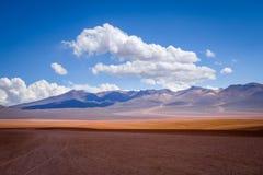 Siloli desert in sud Lipez reserva, Bolivia Royalty Free Stock Image