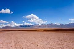 Siloli desert in sud Lipez reserva, Bolivia Stock Images