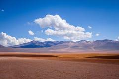 Siloli desert in sud Lipez reserva, Bolivia Stock Photography