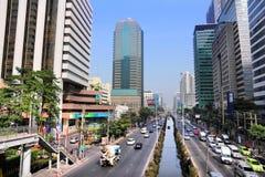 silom bangkok Стоковые Фотографии RF