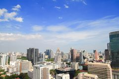 Silom, Bangkok, Tailandia Foto de archivo libre de regalías
