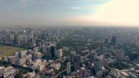 Silom Bangkok Tailandia video d archivio
