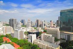 Silom Bangkok, Thailand Arkivfoto