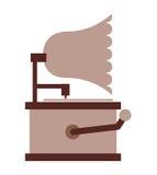 silophone Retro- lokalisiertes Ikonendesign Lizenzfreies Stockbild