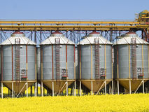 Silos Royalty Free Stock Images