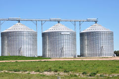 Silos Images stock