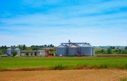 silos Fotos de Stock Royalty Free