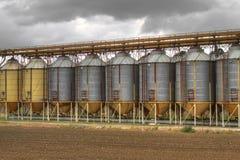 silos Royaltyfria Foton