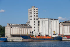 silos Royaltyfria Bilder
