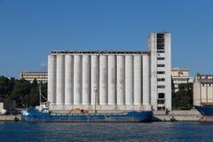 silos Fotografía de archivo