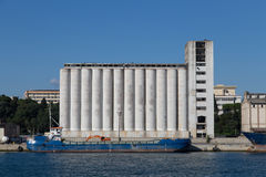 silos Arkivbild