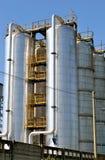 silos Fotografia de Stock