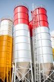 silos Imagen de archivo