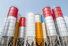 silos photographie stock