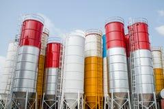 silos Imágenes de archivo libres de regalías