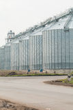 Silos for agricultural goods Royalty Free Stock Photography
