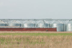 Silos for agricultural goods Royalty Free Stock Image