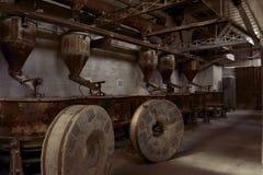 Silos antiguos de la industria Fotografía de archivo libre de regalías