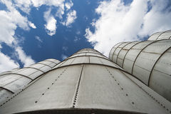 Silos Royalty Free Stock Photos