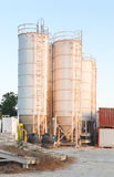 Silos Concrete Stock Photos