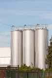 Silos de bière photos stock