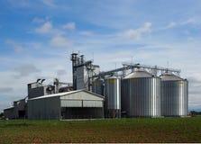 Silos del cereale Immagine Stock