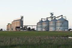 Silos di grano NSW Fotografia Stock Libera da Diritti