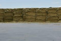 Silos di stoccaggio in un silo della fossa Farmin ed agricolo Immagine Stock Libera da Diritti
