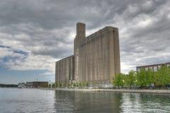 Silos el malteado de Canadá - Toronto, Canadá Imagen de archivo libre de regalías