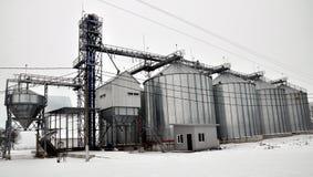 Silos für die Speicherung von grain_3 Stockbild