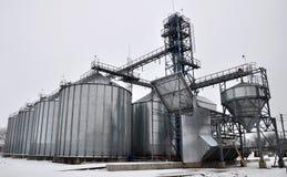 Silos für die Speicherung von grain_2 Stockfotografie